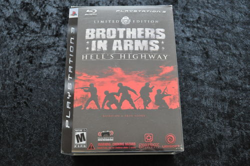 Brothers In Arms Hell's Highway Limited Edition Playstation 3 PS3