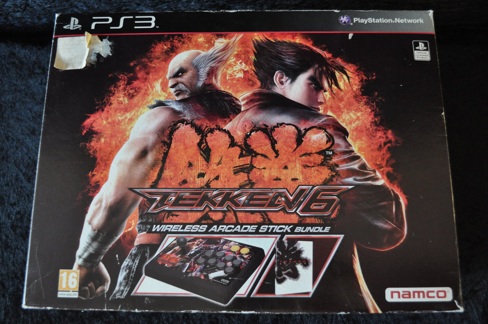 Tekken 6 Arcade Stick Playstation 3 Ps3 Retrogameking Com