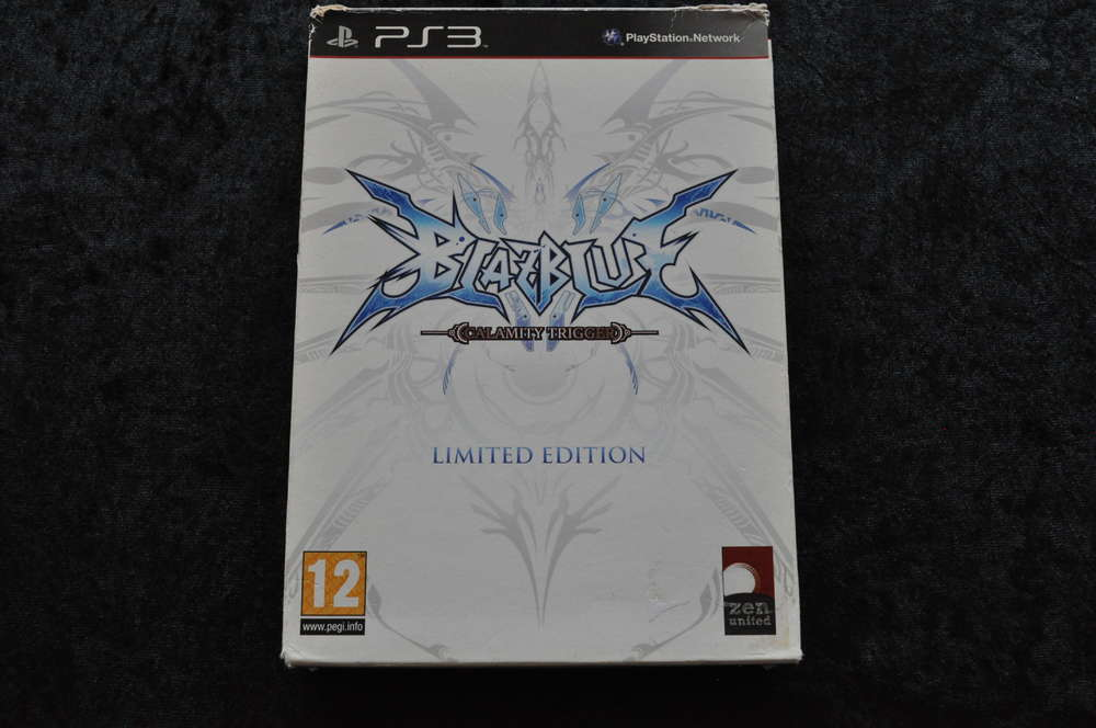 BlazBlue Calamity Trigger Limited Edition Playstation 3 PS3