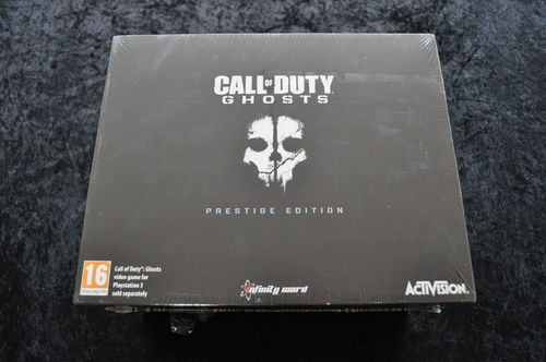 Call Of Duty Ghosts Prestige Edition Playstation 3 PS3 New Sealed