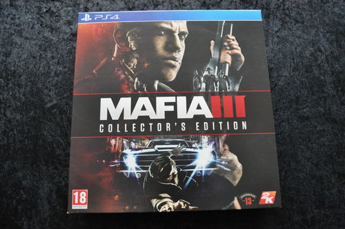 Mafia 3 Collector's Edition Playstation 4 PS4 New Sealed