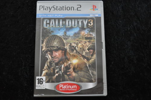 Call of Duty 3 Playstation 2 PS2 Platinum
