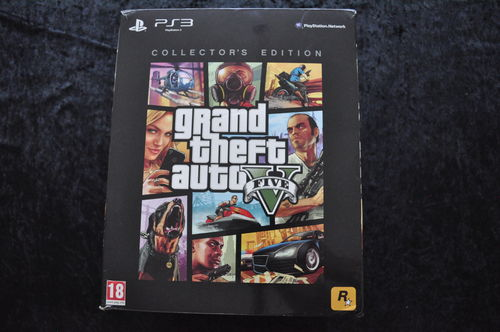 Grand Theft Auto 5 Collectors Edition Playstation 3 PS3