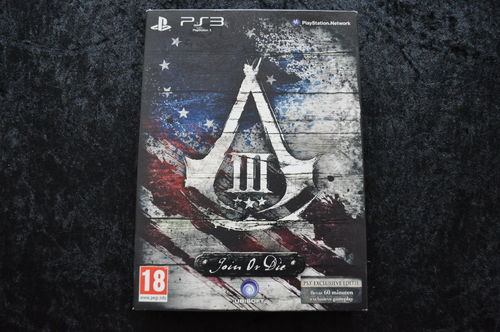 Assassins Creed 3 Join Or Die Collectors Edition Playstation 3 PS3