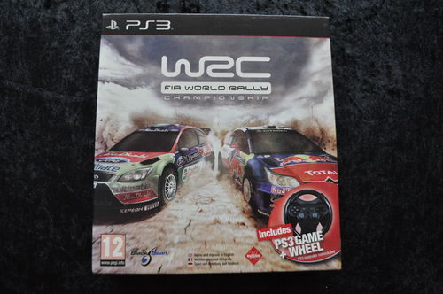 WRC FIA World Rally Championship + Racing Wheel Playstation 3 PS3