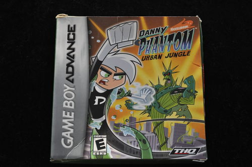 Danny Phantom Urban Jungle Gameboy Advance Boxed
