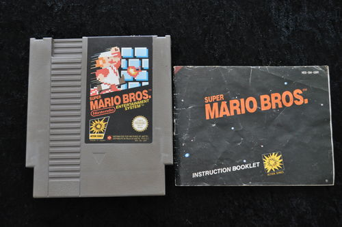 Super Mario Bros + Manual Nintendo Nes