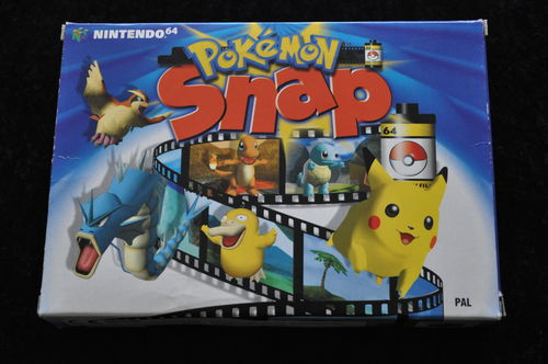 Pokémon Snap Nintendo 64 N64 Boxed PAL