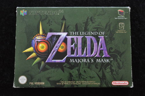 The Legend Of Zelda Majora's Mask Nintendo 64 N64 Boxed PAL