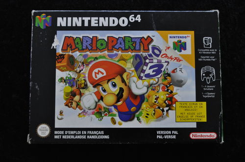 Mario Party Nintendo 64 N64 Boxed PAL