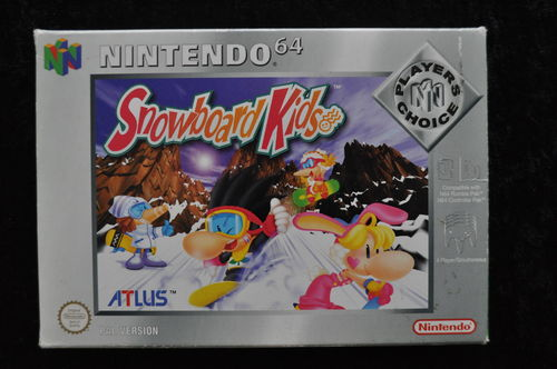 Snow Kids Players Choice Nintendo 64 N64 Boxed PAL