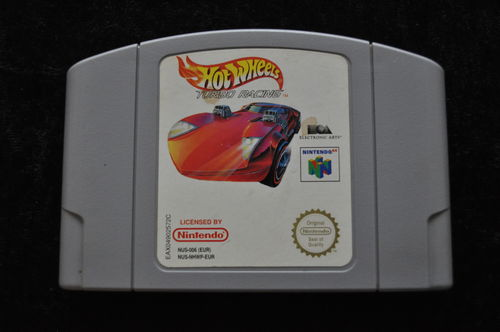 Hot Wheels Turbo Racing Nintendo 64 N64 PAL
