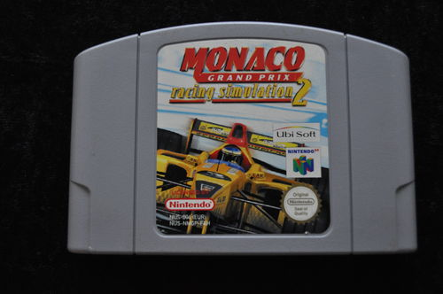 Monaco Grand Prix Racing Simulation 2 Nintendo 64 N64 PAL