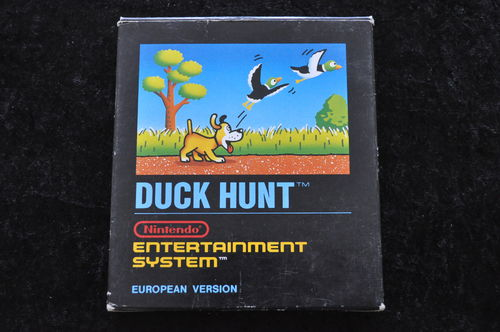 Duck hunt Short Black Box Nintendo Nes European Version