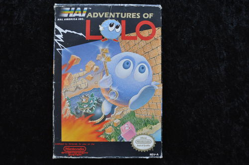 Adventures of Lolo Nintendo Nes NTSC Boxed