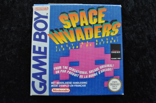 Space Invaders Gameboy Classic Boxed