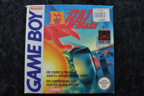 F1 Race Gameboy Classic Boxed