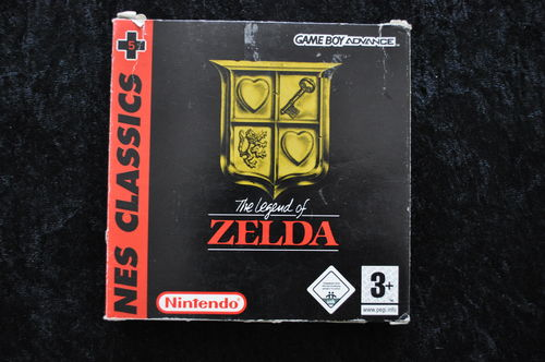 The Legend Of Zelda Nes Classics Gameboy Advance Boxed