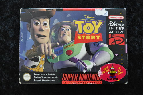 Toy Story Nintendo Snes PAL Boxed