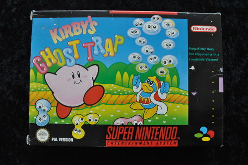 Kirby's Ghost Trap Nintendo Snes PAL Boxed