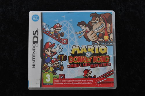 Mario vs Donkey Kong Mini Land Mayhem ! Nintendo DS