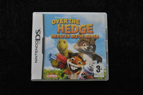 Over The Hedge Beesten bij de buren Nintendo DS Geen Manual