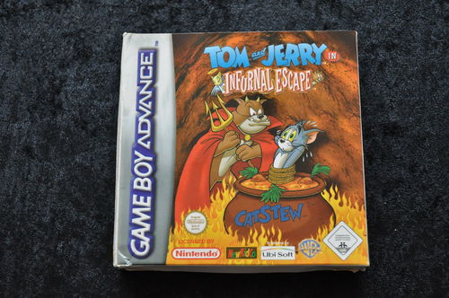 Tom And Jerry In Infurnal Escape Nintendo Game Boy Advance Boxed