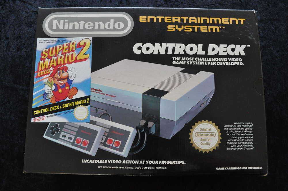 Nintendo Nes Control Deck Super Mario Bros 2 Retrogameking Com