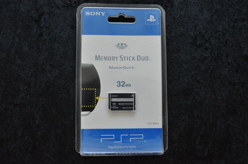 Sony PSP Memory Stick Duo Magicgate 32 MB New