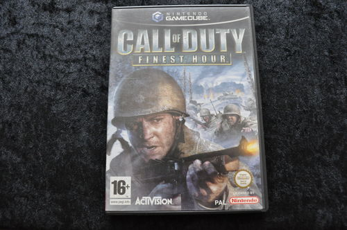 Call Of Duty Finest Hour Nintendo GameCube Geen Manual
