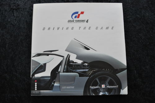 Gran Turismo 4 Driving The Game Leo Hartas Hard Cover Book
