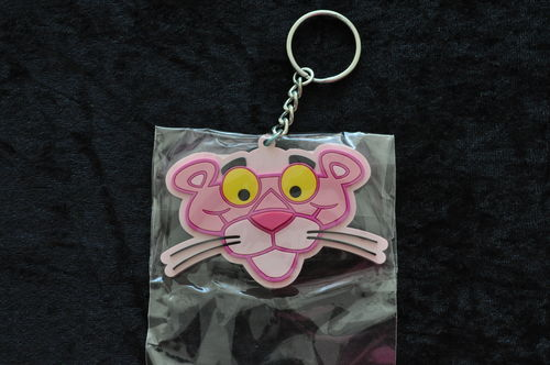 Pink Panther Keyring NEW