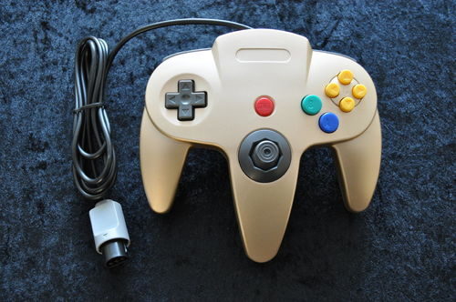 N64 Controller Gold New Nintendo 64 N64