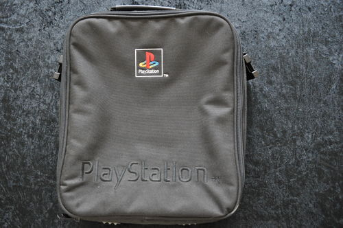 Zip Up Shoulder Carry Bag Case Playstation 1