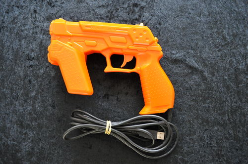 PS3 Namco NC-109 Gun Orange Zapper Gun Playstation 3