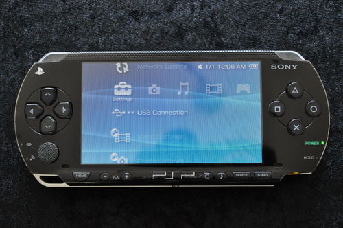 Sony Playstation Portable 1001 Black PSP