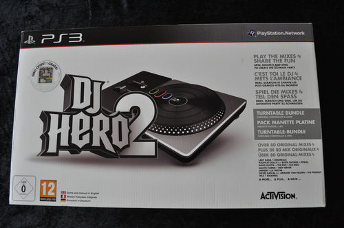 DJ Hero 2 Set Playstation 3 Boxed New