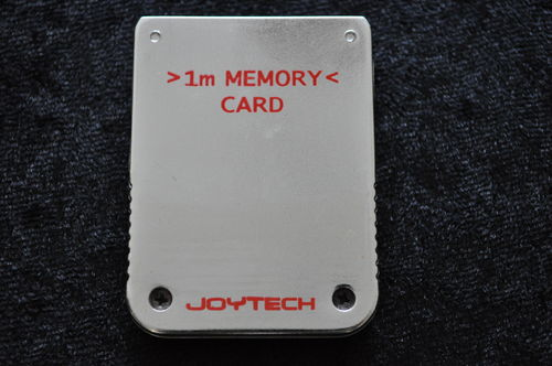 Playstation 1 Memory Card Zilver 1MB 15 Blocks