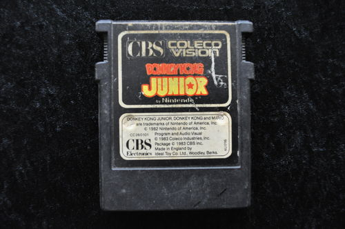 Donkey Kong Junior Colecovision