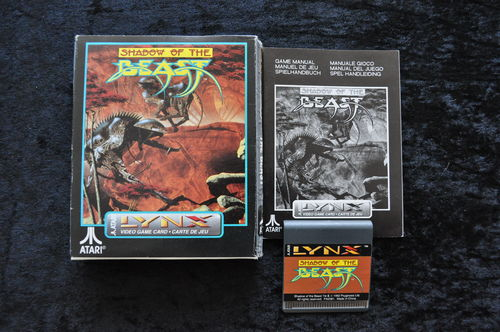 Shadow Of The Beast Atari Lynx