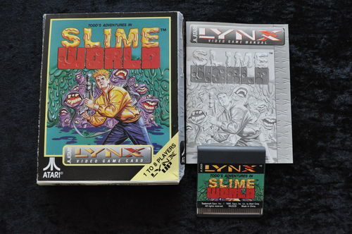 Slime World Atari Lynx Boxed