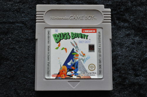 Bugs Bunny Crazy Castle Gameboy Classic