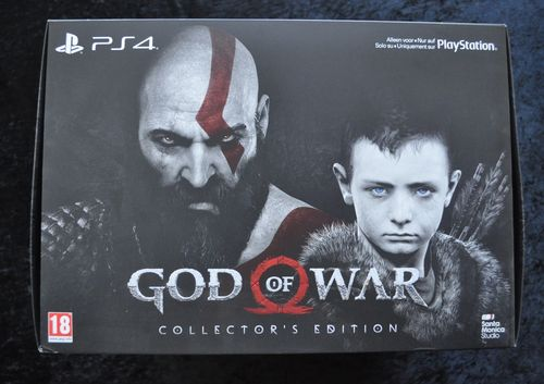 God of War Collector's Edition Playstation 4 PS4 New