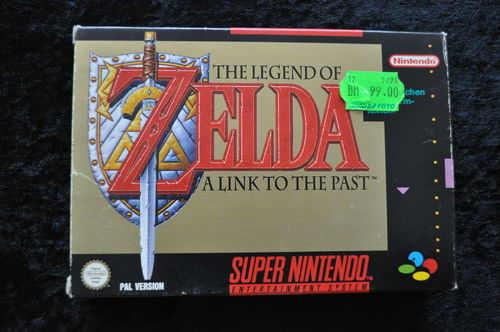 The Legend Of Zelda A Link To The Past Nintendo Snes PAL German + Map Boxed