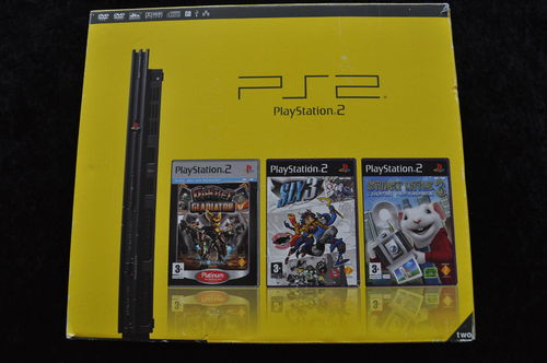 Playstation 2 3 Pack Boxed SCPH-77004CB
