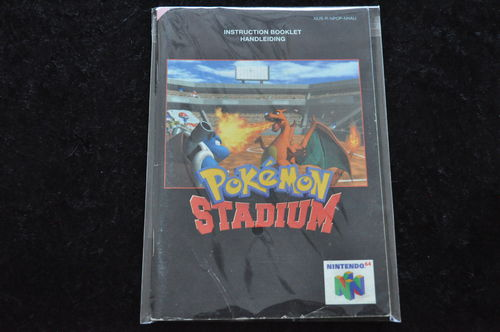 Pokemon Stadium Nintendo 64 N64 Manual