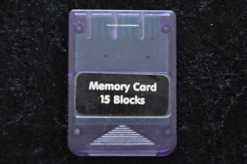 Playstation 1 Memory Card 15 Blocks Paars PS1