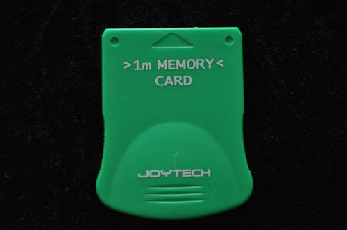 Memory Card 1 Mega Groen Playstation 1 PS1
