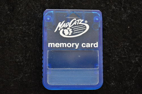 Memory Card Mad Catz Blauw Playstation