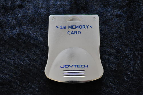 Memory Card 1 Mega Silver Playstation 1 PS1